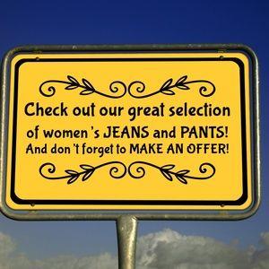 Denim - Women's Jeans and Pants